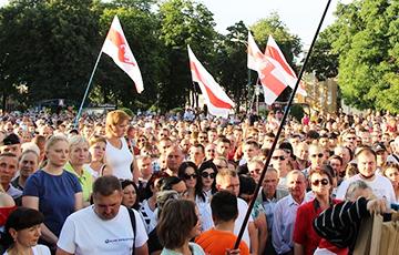 Такого митинга в Берёзе не помнят даже старожилы