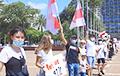 Акции солидарности с белорусами прошла в Израиле