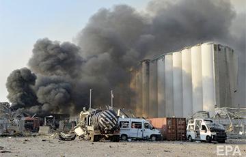 Взрывом в порту Бейрута уничтожено около 85% запасов зерна Ливана