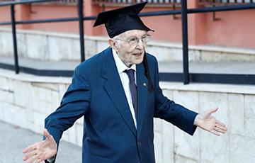 96-летний итальянец получил диплом бакалавра по философии