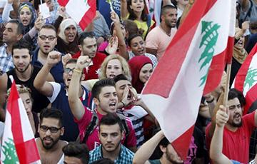 Протестующие в Бейруте требовали отставки правительства