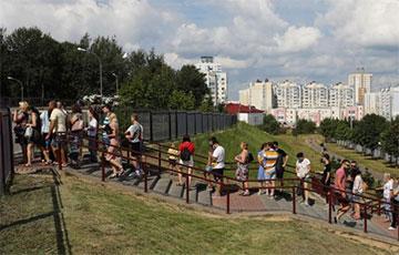 Tut.by: На некоторых участках в Минске явка уже превышает 100%