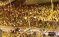 Видеофакт: Минчане стекаются в центр города