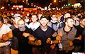 Сильные кадры массового протеста в Минске