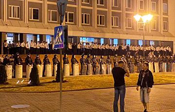 Протестующие в Лиде: Встретимся сегодня!