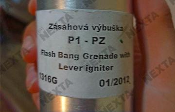 В МИД Чехии заявили о соблюдении эмбарго на поставки светошумовых гранат в Беларусь