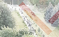 Люди с востока Минска идут в центр