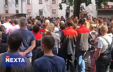 Минский электротехнический завод начал забастовку
