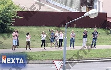 Забастовка началась в Институте химии новых материалов НАН Беларуси
