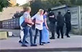 Atrocities of Punishers in Grodno: Armored Vehicles Were Thrown Against People