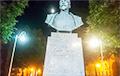 На памятнике Дзержинскому возле КГБ в Минске сбили буквы