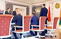 Фотофакт: Совещание у Лукашенко без Лукашенко