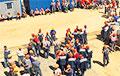 Бастующие работники «Гроднопромстроя» отказываются работать