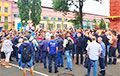 МТЗ выйшаў на страйк
