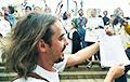 Денис Дудинский организовал акцию под зданием БТ
