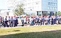 «Гродно Азот» массово вышел протестовать