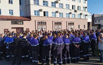 «Минские кабельные сети» ушли на забастовку