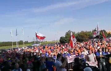 «Уходи!»: бастует весь город Гродно