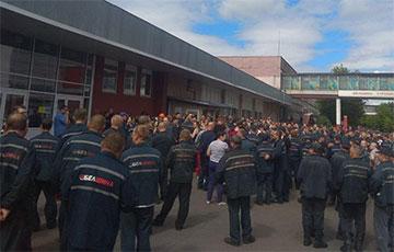 Бабруйская «Белшына» абвясціла страйк