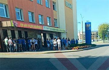 Гродненская табачная фабрика «Неман» тоже присоединилась к забастовке