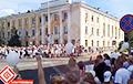 Видеофакт: Что-то невероятное происходит в Барановичах