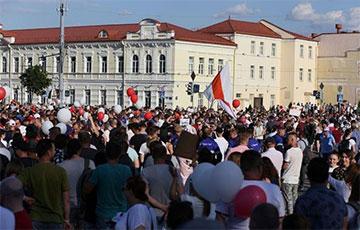 Гарадзенскі раён Вішнявец працягвае пратэстны Марш