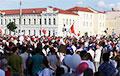 В Гродно прямо сейчас на площади около 35 тысяч человек