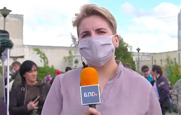 Журналістку «Белсата» шпіталізавалі пасля трох дзён на Акрэсціна