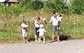 Видеофакт: Против узурпатора вышли все жители населенного пункта
