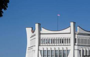 Смена государственного флага в Гродно
