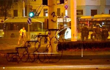 Video Of Aliaksandr Taraikouski Being Killed By Special Police