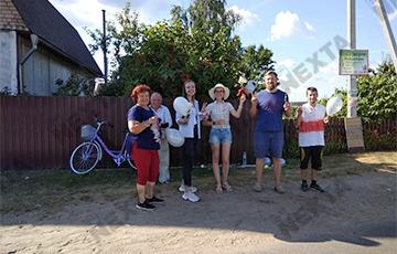 Агрогородок Рубежевичи вышел на митинг