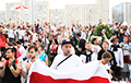 Thousands Of People Picketing Belarusian TV And Radio Company