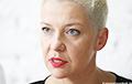 Мария Колесникова: Время для штрафных мер против режима Лукашенко еще не пришло