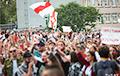 Люди продолжают пикетировать Белорусское телевидение