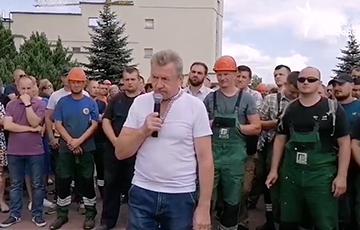 Жесткое выступление бастующего работника «Гродножилстроя»: У нас одно требование — убрать Лукашенко