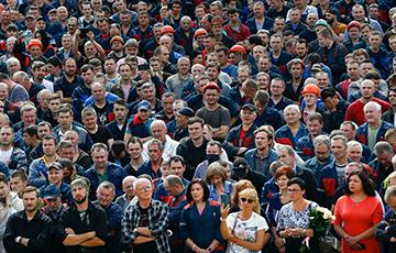 Рабочим заводов напомнили о старте Национальной забастовки 26 октября