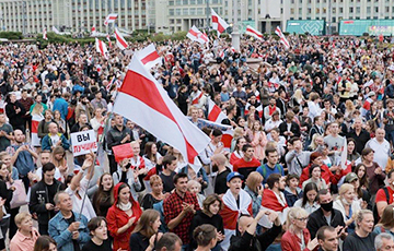 'Whole World Now Knows Belarus By Sea Of White-Red-White Flags In Streets'
