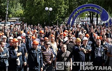 «Людзьмi звацца»: работники «Нафтана» записали новое видеообращение