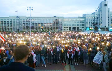 Überall protestieren: der 18. Tag der belarussischen Revolution (Online)
