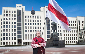 Нина Багинская — символ протестов в Беларуси