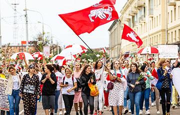 Грандиозный парад Женских миротворческих сил в столице Беларуси в фотографиях