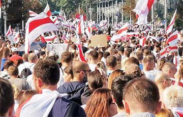 Грандиозный Марш мира и независимости показали за шесть минут