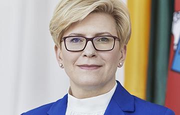 Ингрида Шимоните: Литва и Латвия едины в оценке БелАЭС