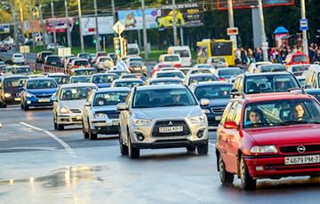 «Яндекс» оценил утренние пробки в Минске в восемь баллов