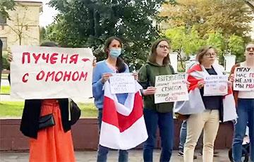 Студенты МГЛУ вышли на акцию солидарности