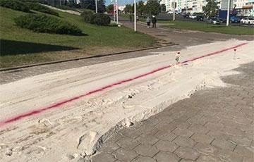 Минчане отстояли мемориал на Пушкинской