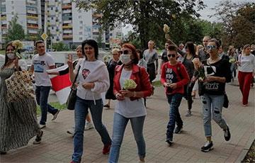В Витебске прошел автопробег и марш солидарности