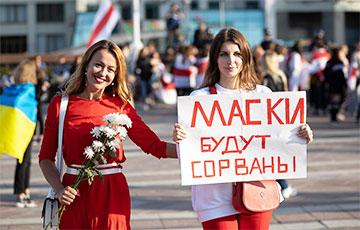 «Маски будут сорваны»: как белоруски маршировали по столице