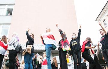 Талантливая молодежь потребовала новых выборов в Беларуси